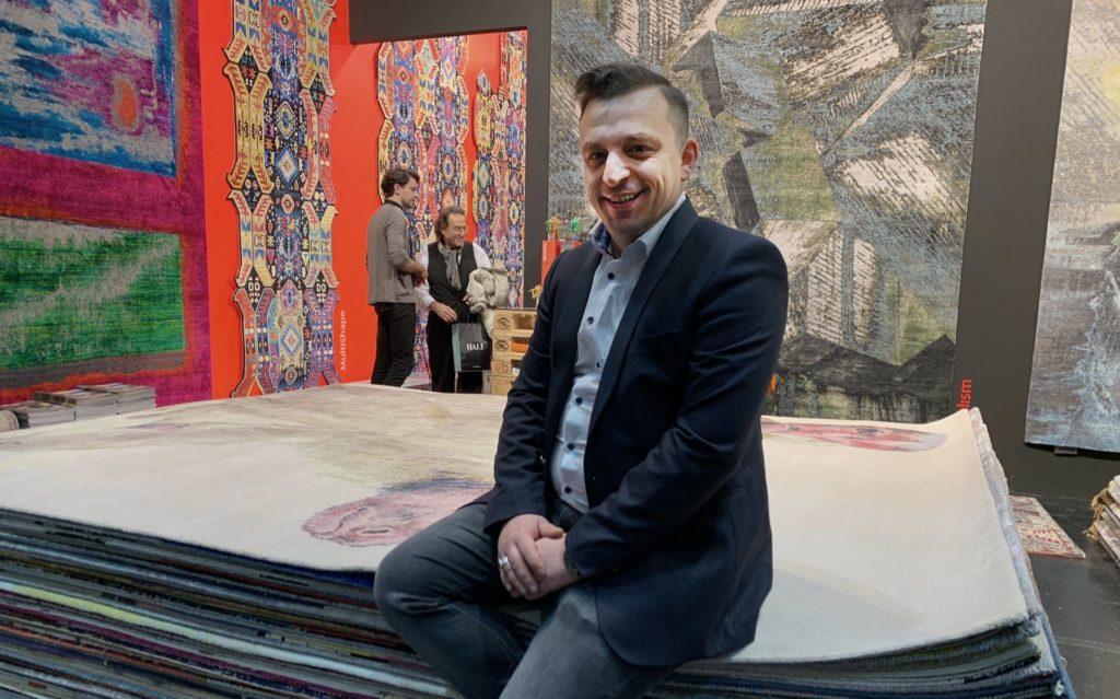 Hady Rahbar ist Ihr Teppich-Experte